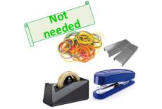 糸、針、テープ、ゴムに代わる方法として利用できます。