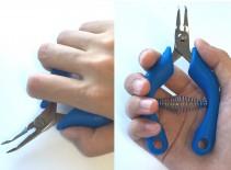 握りやすく滑りにくいハンドル形状。<br /> 疲れにくいため作業効率がアップします。