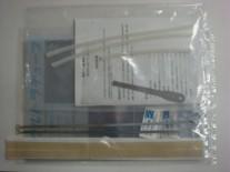 消耗品となるヒーター線2本、テフロンテープ2枚が標準付属。<br /> ※別途お買い求めも可能です