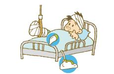 ひと手をかりず、寝たまま排尿
