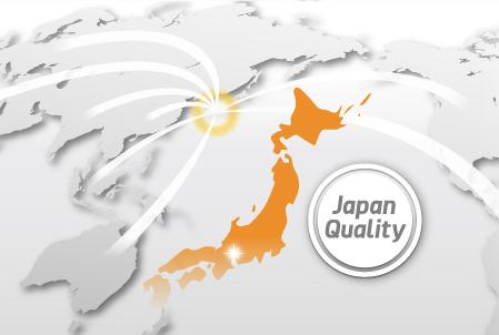 長年にわたり海外へ輸出し続けています。アジアだけでなく、世界各国への輸出実績があります。