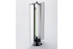 アルミカバーはワンタッチで開閉するため消耗品の捕虫紙やランプの交換が簡単です。